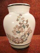 "DENBY "" ROMANCE "" Floral & Foliage Design 5.5"" tall VASE - FREE UK POSTAGE"