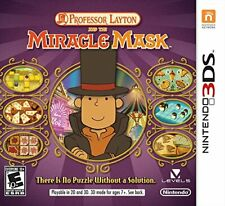 Professor Layton and the Miracle Mask (Nintendo 3DS) (Australian... - Game  ZOVG