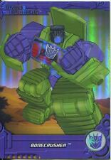 Transformers Optimum Generation 1 Foil Chase Card TF14 Bonecrusher