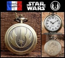 Montre gousset NEUVE ! ( Pocket Watch ) - Star Wars Ordre Jedi ( Ref 1 )
