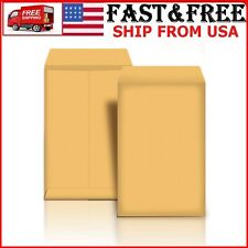 Manilla Envelope 10x13 Manila Self Stick Easy Seal 100 Pack Mailing Safe Securit
