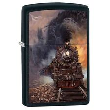 ZIPPO TRAIN by ARTIST TED BLAYLOCK LIGHTER NEW