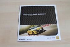 99718) Renault Megane RS 2.0 16V Coupe - Trophy - Prospekt 08/2011