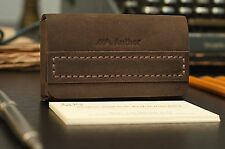 Business card holder - Handmade Leather Business Card Case