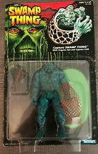 Capture Swamp Thing w Organic Net Cypress Club Action Figure 1991 Kenner NEW