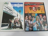 RBD REBELDE JOB LOT LOTE 2 DVD TOUR GENERACION RBD EN VIVO + LIVE IN HOLLYWOOD &