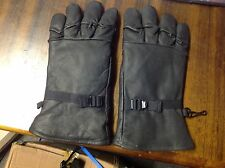 American Army Leather Gloves , size XLarge