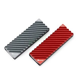 Aluminum M.2 2280 PCIE NGFF NVME SSD Heatsink Solid State HDD Cooler Heat Sink