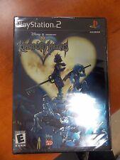 PS2 - Kingdom Hearts - Black Label - Brand New! Free Shipping!