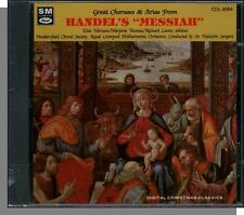 Handel - Great Choruses & Arias from The Messiah - New 1987 CD! Richard Lewis