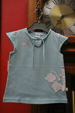 """T-shirt Disney""""Winnie""""bleu ciel Manches courtes T36M ou 3ans à 1,00€ comme NEUF"""
