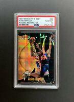 1997-98 Kobe Bryant Bowman's Best Atomic Refractor #88 2nd Yr NO GREENING PSA 10