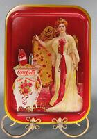 1969 Reproduction of 1903 Coca-Cola Tray Lillian Newton Nordica Red Tray