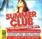 SUMMER CLUB LE SON TROPICAL 2010 - 3 CD COMPILATION NEUF ET SOUS CELLO