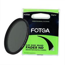 FOTGA 72mm Optical Glass Slim Fader Adjustable Variable ND Filter ND2 to ND400