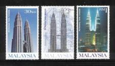 [KKK] 1999 MALAYSIA PETRONAS TWIN TOWERS (3v) MNH