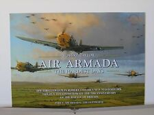 Air Armada Me109 Luftwaffe Aces Robert Taylor Aviation Art Brochure