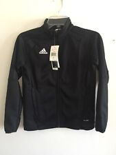 Adidas Tiro 17 Training Jacket Black White Size YS Boy's Only
