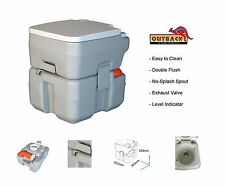 20L PORTABLE Chemical Toilet Pack - Bag, Chemical Set, Sprayer FREE POST