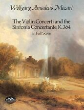 Mozart: The Violin Concerti & Sinfonia Concertante K.364... DP12972