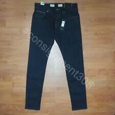 $168 Tommy Hilfiger Bleecker Slim Fit Premium Selvedge Jeans 33x36 nwt