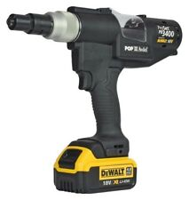 POP / Avdel Tool PB3400-NA2042 Cordless Riveter W/T Battery Pack; 4.0 & Charger