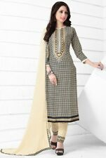 Radiant Cotton Dress Material with chiffon dupatta with Print work D.NO MK6415