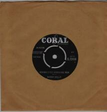 BUDDY HOLLY Brown eyed handsome man Coral Q 72450 classic rock from 1963
