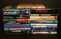 LOT of 19 Vintage SCIENCE FICTION BOOKS SciFi FANTASY Hardcover ACE TOR DEL REY