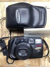 Samsung Camera,  Late Model.     35mm.   Used, Original Case.  C/SAM     CAMERA
