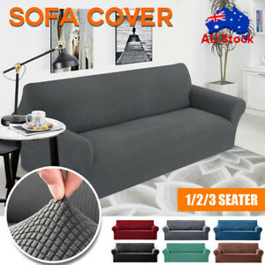 Super Stretch Couch Covers Sofa Covers Slip Covers Soft Thick 1/2/3/4 Seater AU