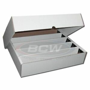 BCW 5000 Count Trading Card Storage Box (Full Lid)