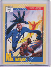2013 Marvel Fleer Retro - 1991 Marvel Universe Autograph Joe Jusko Mr. Fantastic