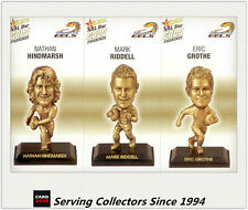2008 Select NRL Gold Figurine Collectable Trading CARDS team Set Eels (3)