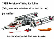 Lego Star Wars Ep 9 NEW 75249 Resistance Y-Wing Starfighter only no figs 2019