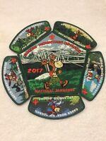Mint 2017 National Jamboree 6 Piece JSP Set Green Mountain Council