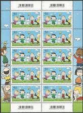 Peanuts - Rasselbande - 90 Ct. - Zehnerbogen - nkl. - postfrisch - Mi.Nr. 3370