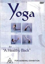 YOGA FOR A HEALTHY BACK - YOGI MARLON - NEW & SEALED DVD