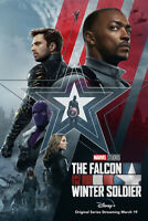 The Falcon and the Winter Soldier Movie 27x40 LIGHT BOX DS POSTER repro glossy