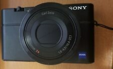 Sony Cyber-shot DSC-RX100 20.2MP Digital Camera - Black