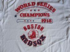 Boston Red Sox True Vintage 50-50 World Series  MLB Ringer T-shirt Fits Adult M