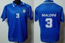 MONDO REPLICA ITALIA NAZIONALE ITALIANA MAGLIA P. MALDINI 3  TG. XL