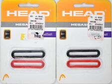 Head Megasorb Rubber Racquetball Dampener Bands *Set Of 2* Red/Black >New<