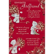 mty v01ss049 Secret Admirer Me to You Bear Valentines Day Card...