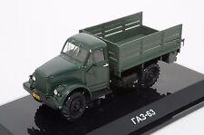 Rare 1/43 DIP MODELS 106303 russian GAZ 63 4x4 military truck 1953 USSR CCCP NIB