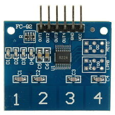 TTP224 4 Channel Digital Touch Sensor Button Switch Module For Arduino