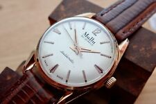Mens vintage AUTOMATIC Swiss watch MUDU DOUBLEMATIC 30J SERVICED CA58 FELSA4000N