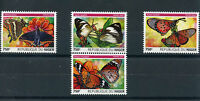 Niger 2015 MNH Butterflies 4v Set Insects African Monarch Butterfly Stamps