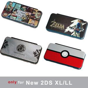 Snap on Case Cover for Nintendo New 2DS XL/LL Zelda Monster Hunter