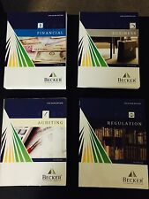 Becker CPA EXAM REVIEW 2012 Edition - (AUD, BEC, FAR, REG) 4 PARTS!